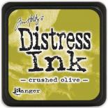 Distress ink (Crushed olive)