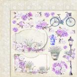 Papīrs 30x30cm - My sweet Provence 03
