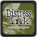 Distress ink (Forest moss)
