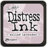 Distress ink (Milled lavender)