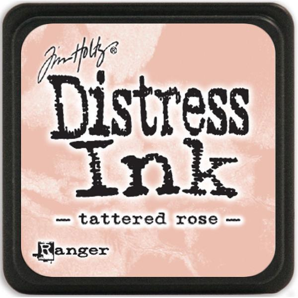 Distress ink (Tattered rose)