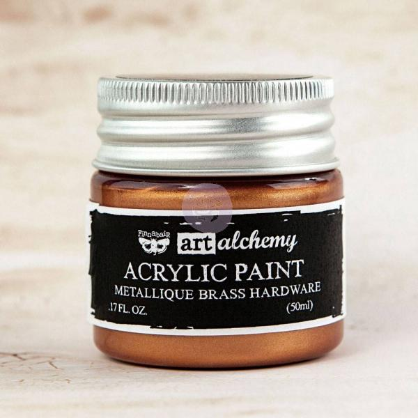Metallique Acrylic Paint -Brass Hardware