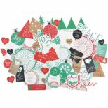 Die cuts - Holly Jolly