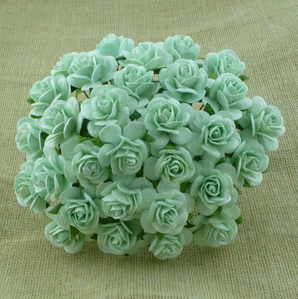 Rozes 15mm - Pastel Green