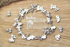 Kartona čipbords - Boho small wreath