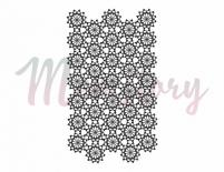 Clear stamp - Lace background