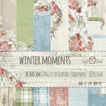 Бумага 30х30 см - Winter Moments