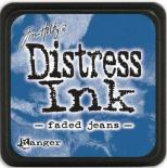 Distress ink (Faded jeans)