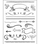 Stamps - Lettering Elemente