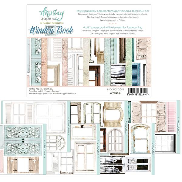 Window book - elements for fussy cutting