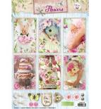 Die cuts - Beautiful flowers 1369