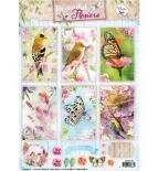 Die cuts - Beautiful flowers 1368