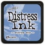 Distress ink (Stormy sky)