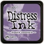 Distress ink (Dusty concord)