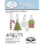 Cutting die - Holiday charms