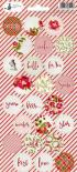 Stickers - Rosy Cosy Christmas 03